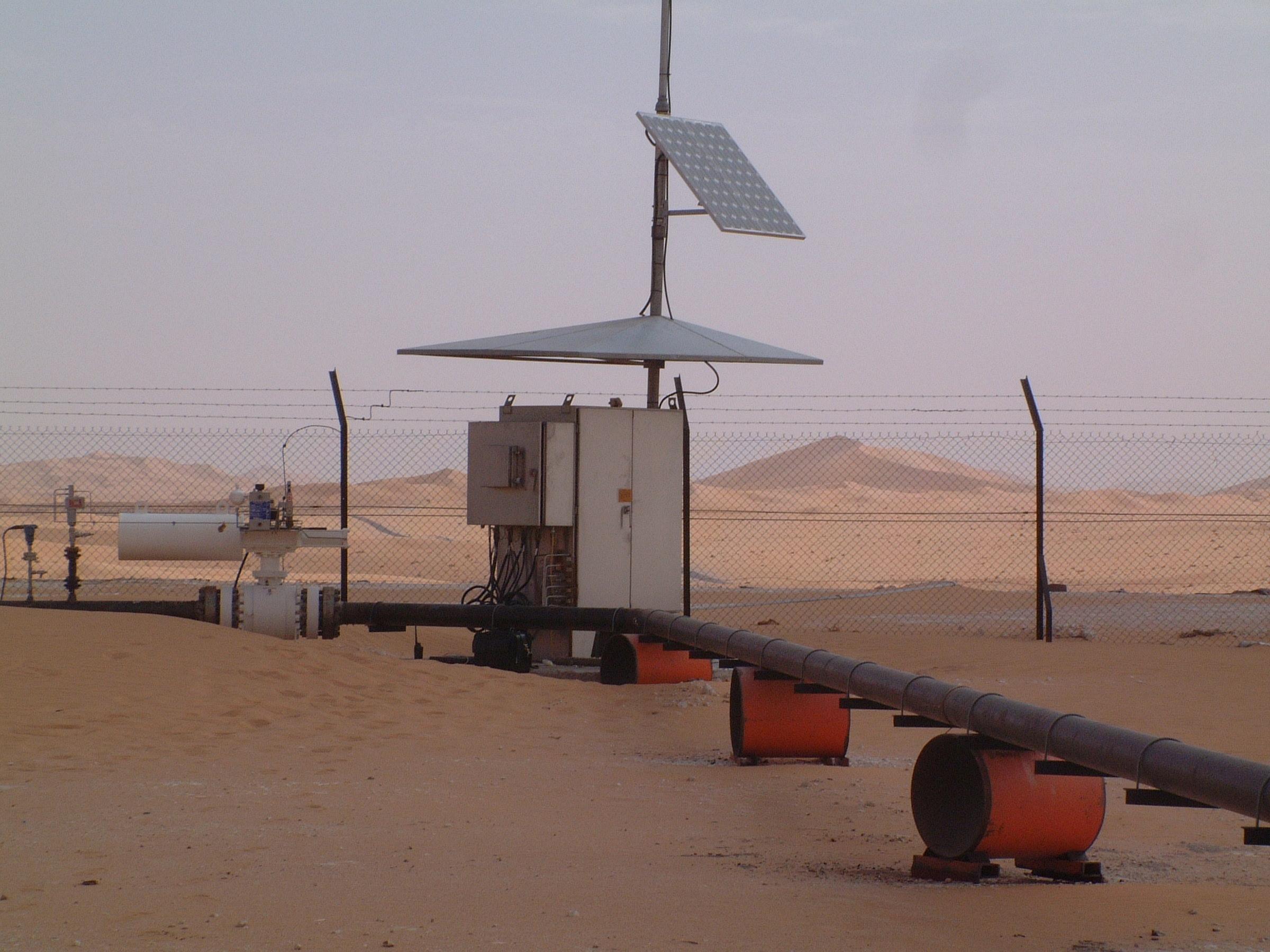 Remote Solar Power System Scada systems and solar power